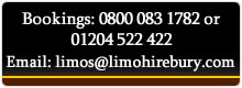 Limo Contact Info